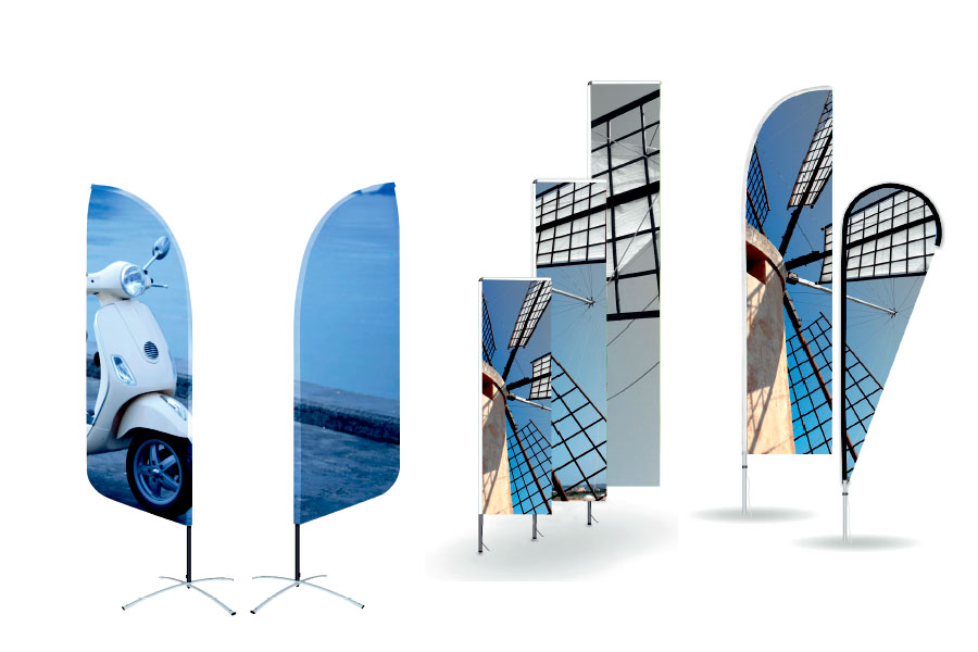 Beachflag til effektiv og nem markedsføring